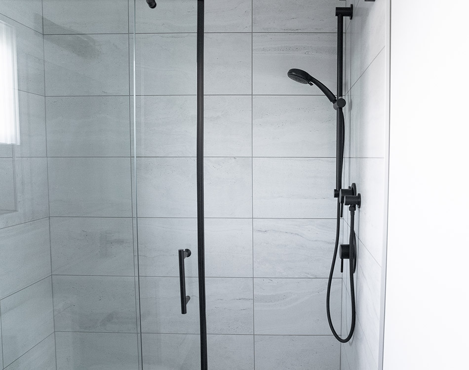 Backyard Oasis Shower