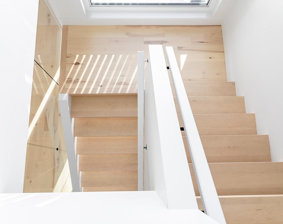 intelligently designed stairwell