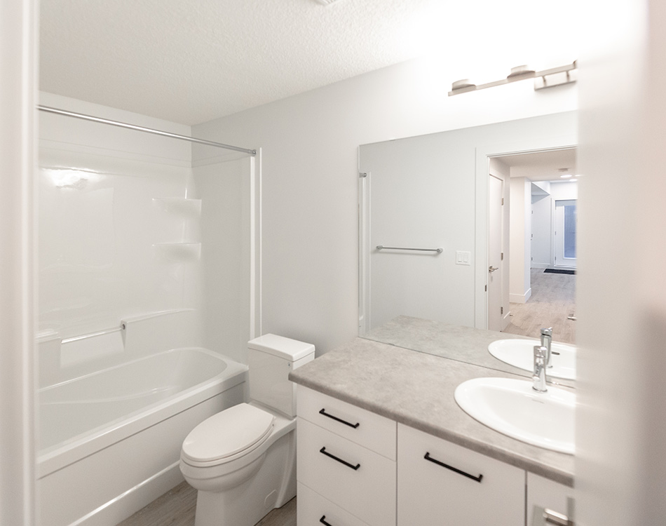 basement suite bathroom