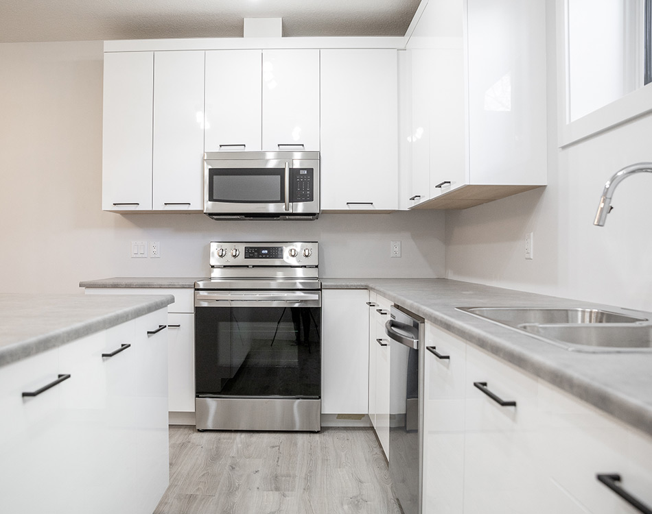 garden suite stainless steel kitchen