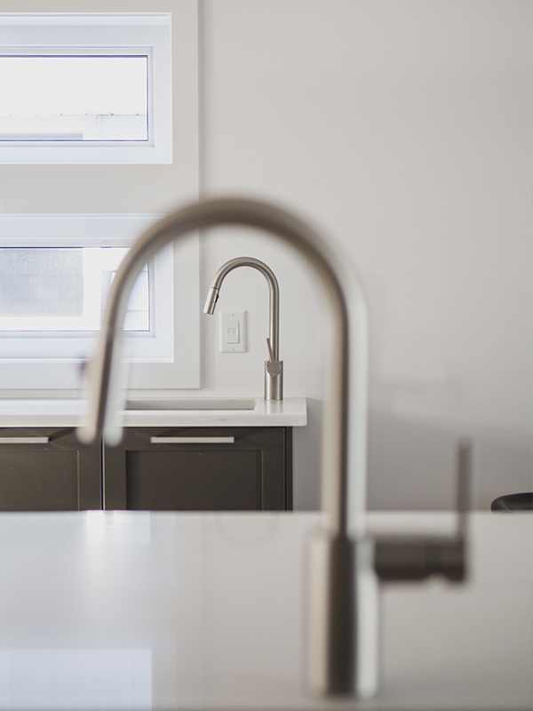 brushed nickel faucets