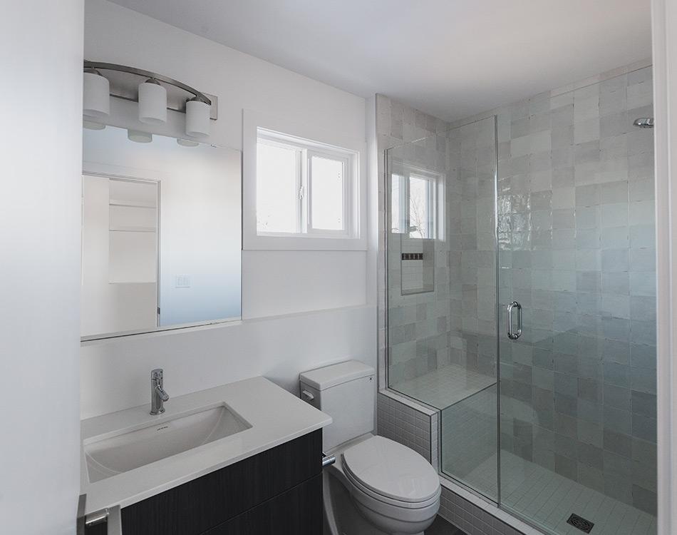 Backyard House Bathroom