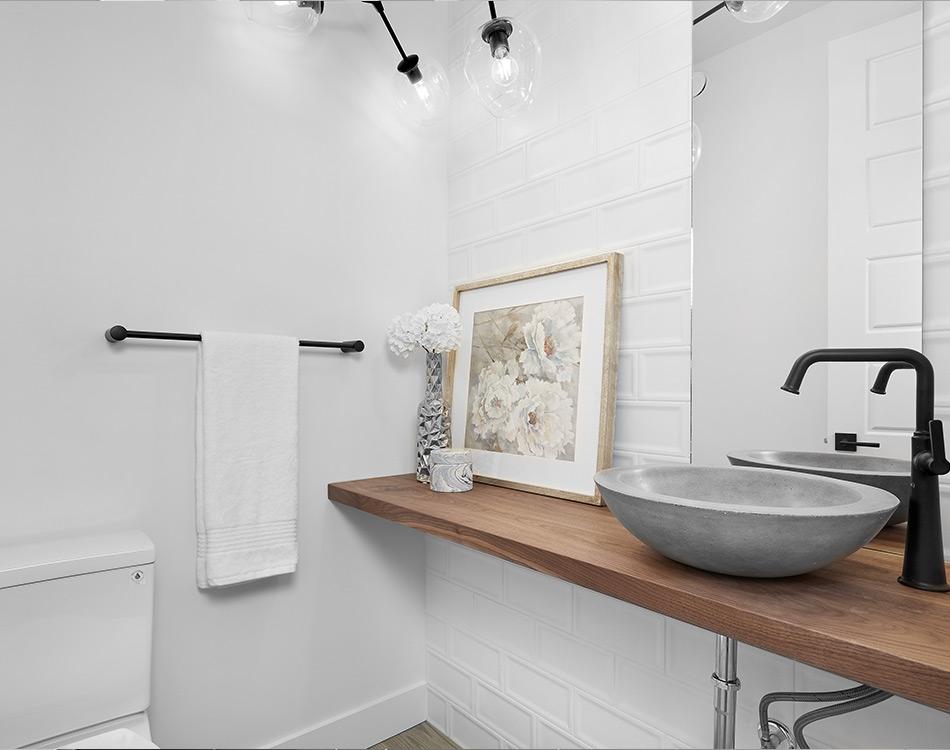 granite bowl for the faucet