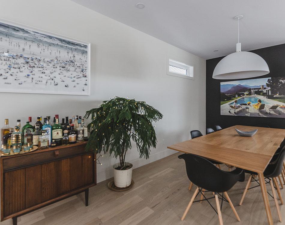 biophilic living room