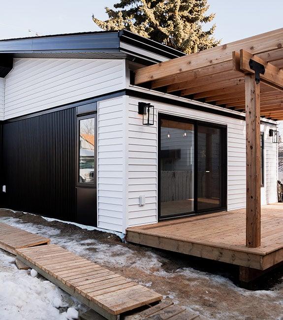 Garden suite Edmonton