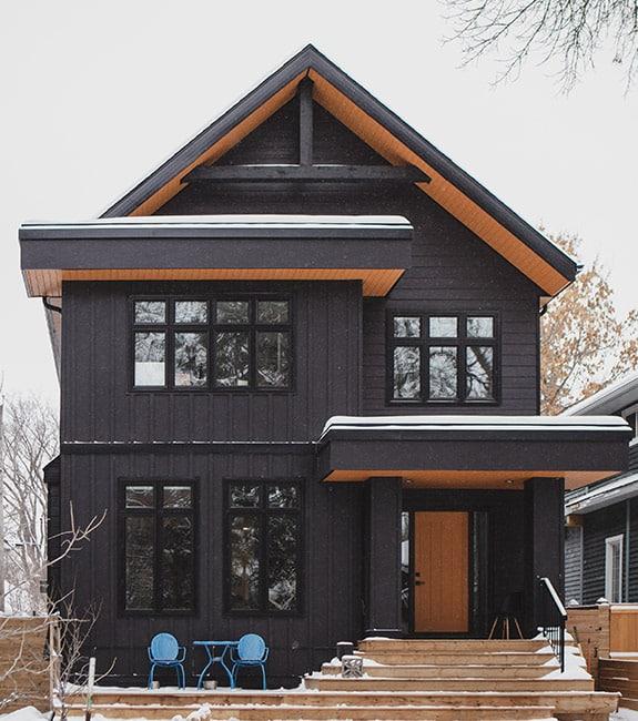 build a custom home in Edmonton