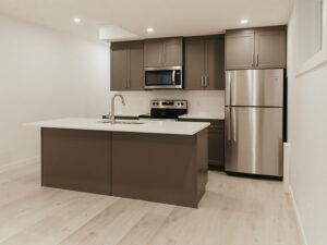 Legal suite kitchen