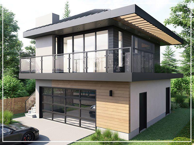 Timber Haus Garden Suite in Edmonton
