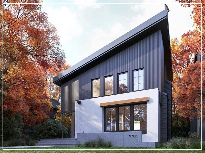 Timber Haus Infill in Edmonton